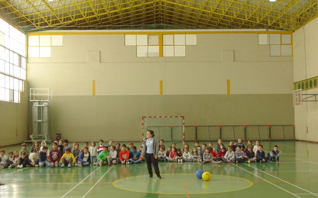 Manhã Desportiva  - Goalball e Showdown